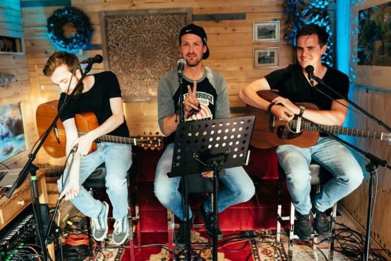 Die Band Sonder im Cafe 35.
