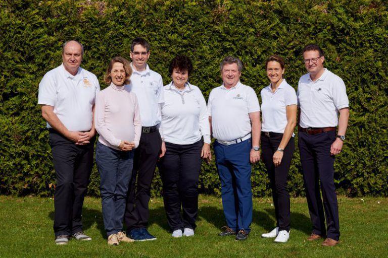 Vorstand des Golfclubs Clostermannshof.