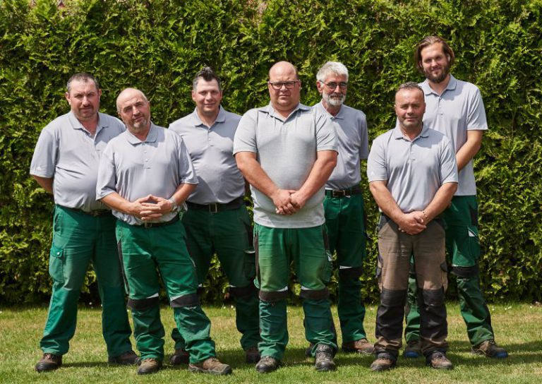 Das Greenkeeping Team des Golfclubs Clostermannshof