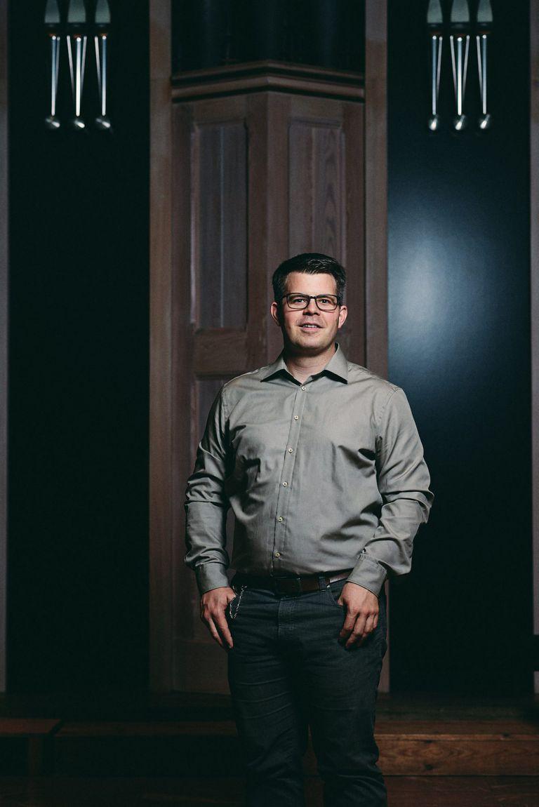 Portrait Organist Christian Jackob