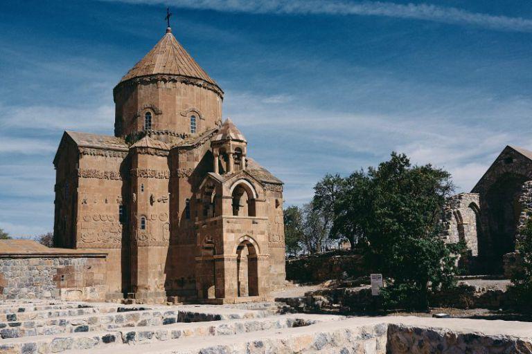 Ein Armenisches Kloster im Vansee.