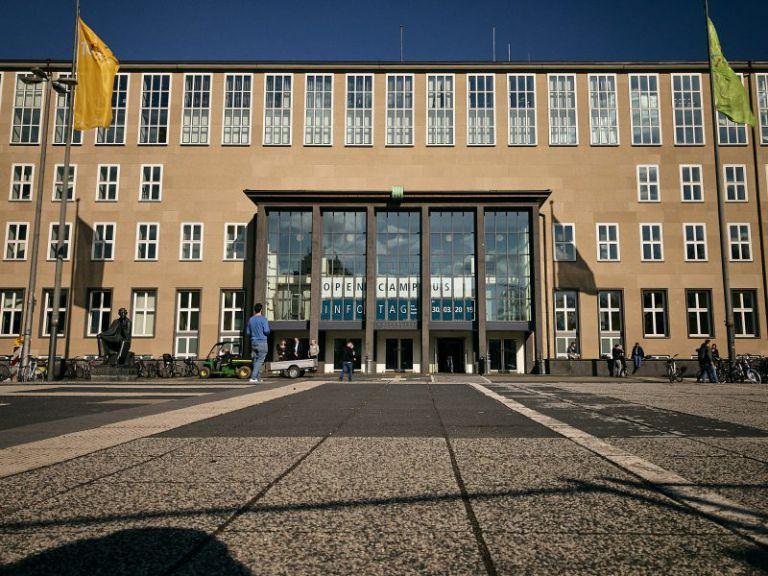 Haupteingang Universität Köln