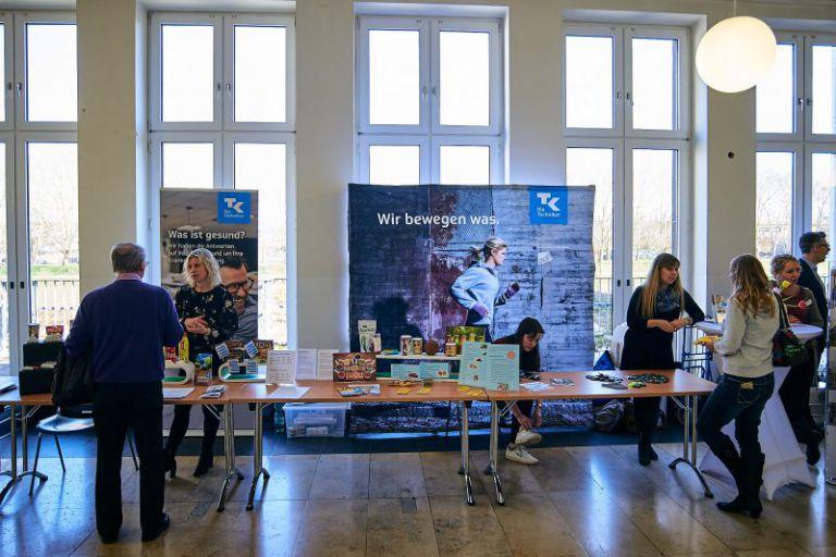 Informationsstand am Gesundheitstag der Uni Köln