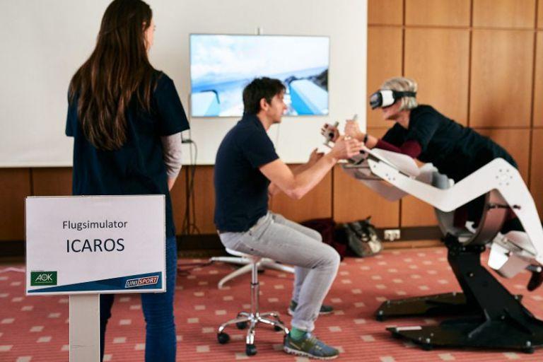 VR-Simulator im Einsatz